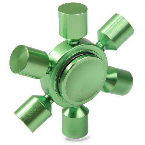 Outfit Stress Relief Focus Toy Rudder Fidget Metal Spinner GREEN