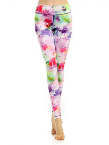 Colorful Sports Leggings - Colormix - Xl
