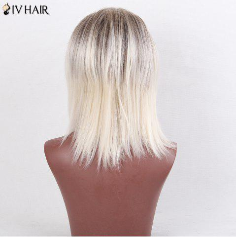 Outfits Siv Hair Colormix Medium Side Bang Silky Straight Bob Human Hair Wig - COLORMIX  Mobile