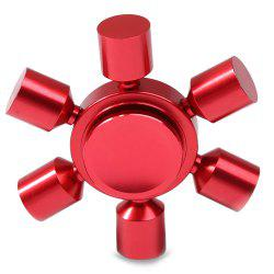 Stress Relief Focus Toy Rudder Fidget Metal Spinner