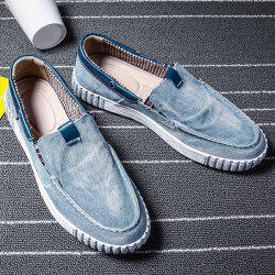 Stitch Casual Slip On Canvas Sneakers -