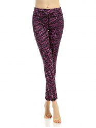 Active Breathable Patterned Leggings - TUTTI FRUTTI