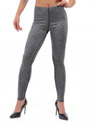 Active Marled Knit Leggings