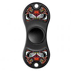 Alloy Aluminium Patterned Fidget Spinner EDC Fiddle Toy - Multicolore
