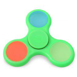 Tri Fidget Toy Glow in the Dark Hand Spinner