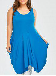 Plus Size Sleeveless Long Tank Top