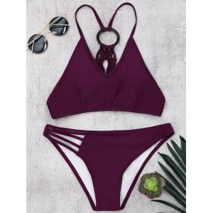 Braided Wireless Padded Bikini Set
