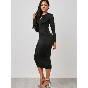Robe Bodycon - Noir M