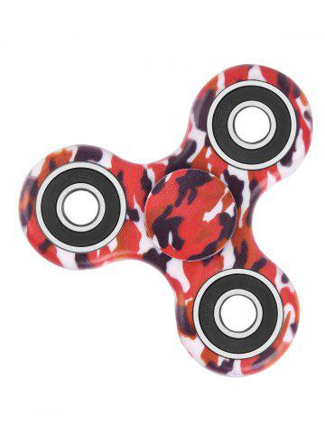Cheap Camouflage Print Focus Toy Stress Relief Fidget Spinner RED