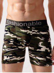 Stretch Camo Swimming Trunks -