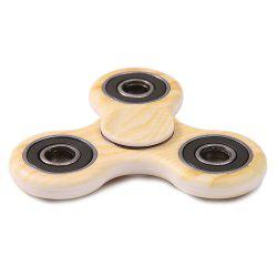 Wood Grain Stress Relief Toys Fidget Spinner - ORANGE