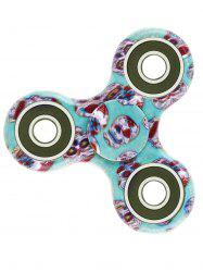 Camouflage Print Focus Toy Stress Relief Fidget Spinner