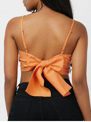 Self-Tie Cropped Camis