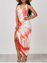 Maxi Tie Dye Tank Dress - COLORMIX