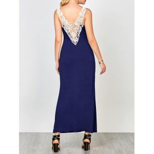 Cutwork U Neck Tank Dress