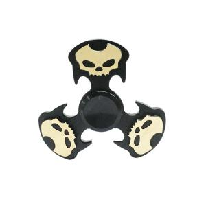 Metal Cool Skull Focus Toy Hand Fidget Spinner