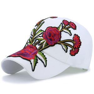 Showy Floral Baseball Hat