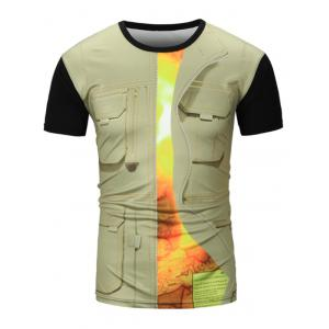 Pocket Vest 3D Printed Graphic Tee