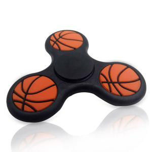 Focus Toy Basketball Pattern Triangle Fidget Finger Spinner -
