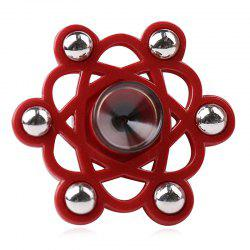 Fiddle Toy Metal Balls Flower Shape Fidget Spinner