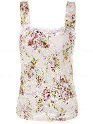 Flower Lace Tank Top