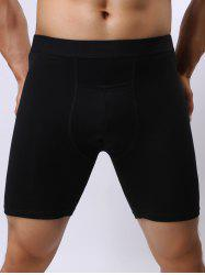 Stretch Front Pocket Design Shorts