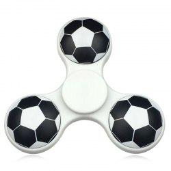 Soccer Pattern Finger Gyro Fidget Spinner EDC Fiddle Toy