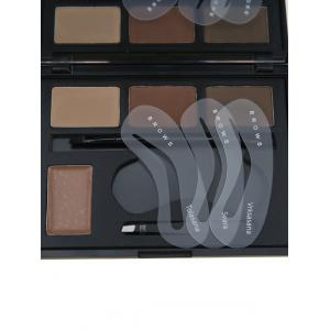4 Color Matte Eyebrow Beauty Makeup Kit - #01