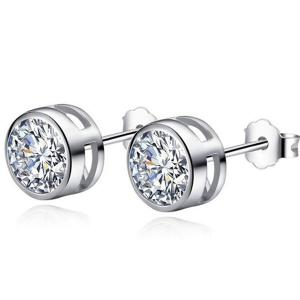 Rhinestone Stud Tiny Earrings