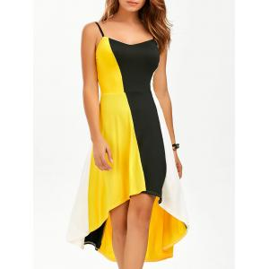 Robe couleur Robe haute taille