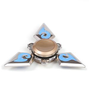 Metal EDC Fidget Hand Tri-Spinner Toy For Relaxing -