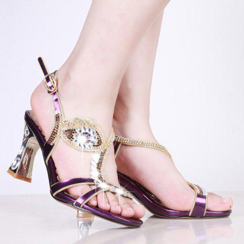 Hot Strange Style Rhinestones Sandals
