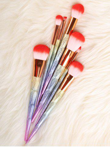 Outfit Unicorn Conical Rainbow Makeup Brushes Kit - COLORFUL  Mobile
