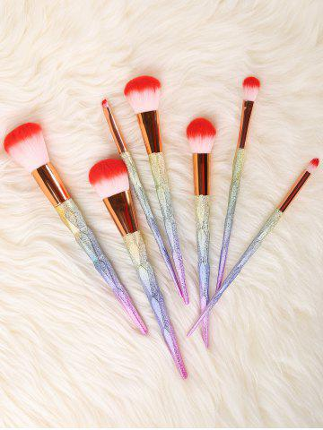 Store Unicorn Conical Rainbow Makeup Brushes Kit - COLORFUL  Mobile