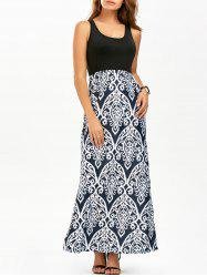 Long Maxi Printed Tank Summer Dress