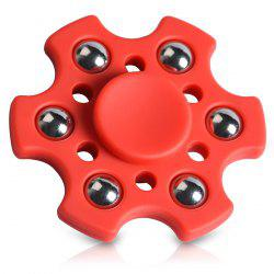 Stress Relief Toy Snowflake Shape Ball Bearing Fidget Finger Spinner