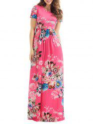 Long Floral Summer Formal Dress for Wedding