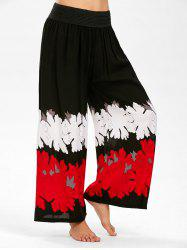 High Waisted Printed Palazzo Pants
