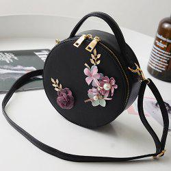 Flowers Canteen Cross Body Bag - BLACK