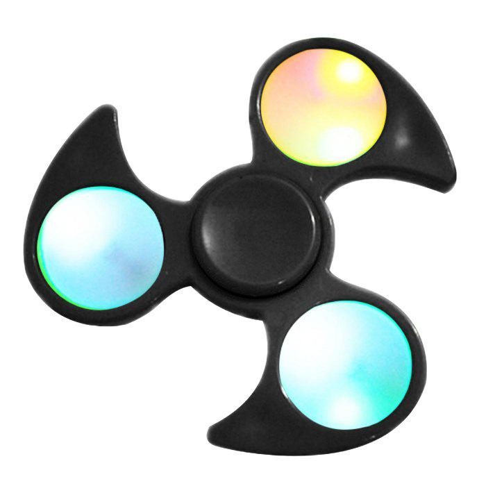Cheap Anti Stress Toy Fidget Spinner With Colorful Flashing LED Lights
