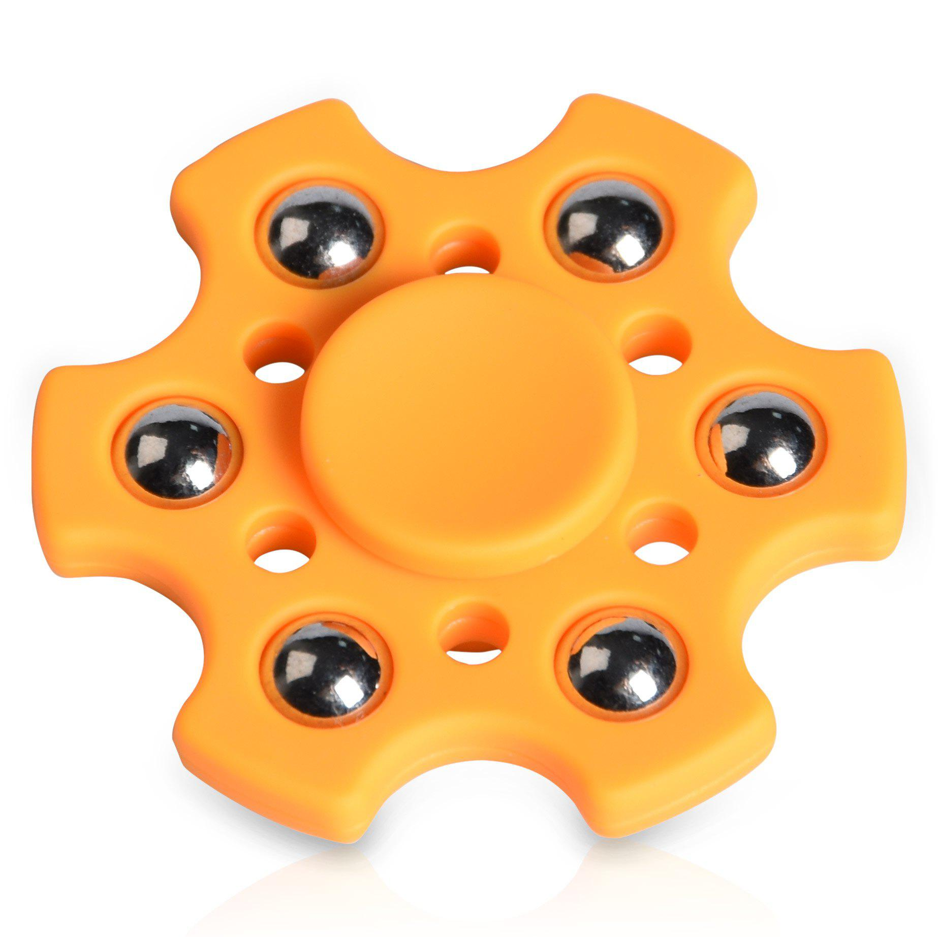 Outfits Stress Relief Toy Snowflake Shape Ball Bearing Fidget Finger Spinner