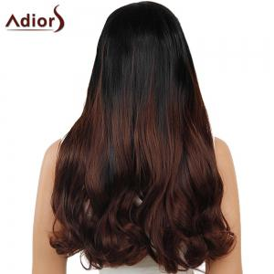 Adiors Dyeable Perm Middle Part Long Straight 180% Lace Front Synthetic Wig
