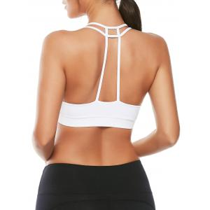 Caged Strappy Padded Sports Bra