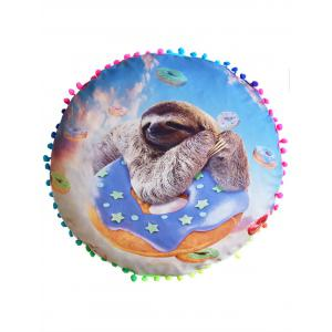 Sloth Print Home Decorative Throw Pillow Cover