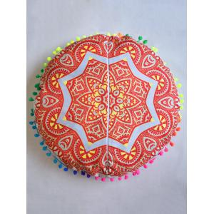 Mandala Round Cushion Floor Pillow Pouf Cover -