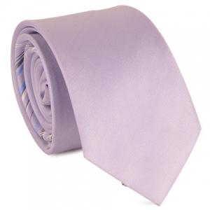Mulberry Silk Striped Tie - Pinkish Purple