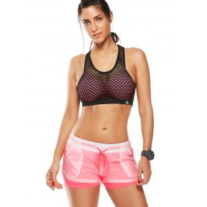 Layer Sports Drawstring Running Shorts -