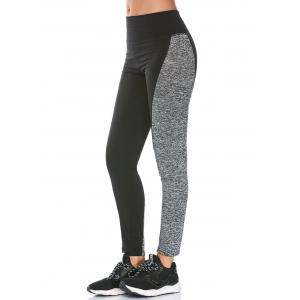 Two Tone High Waisted Workout Leggings