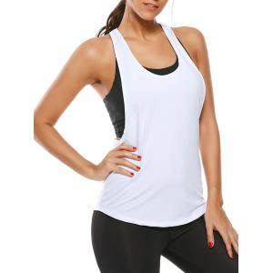 Racerback Work Out Layering Running Tank Top