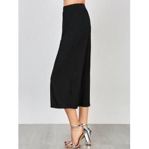 Ninth High Waisted Palazzo Pants - BLACK 2XL